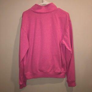 PINK Victoria's Secret Jackets & Coats - Victoria's Secret Pink Quarter Zip Jacket Pink